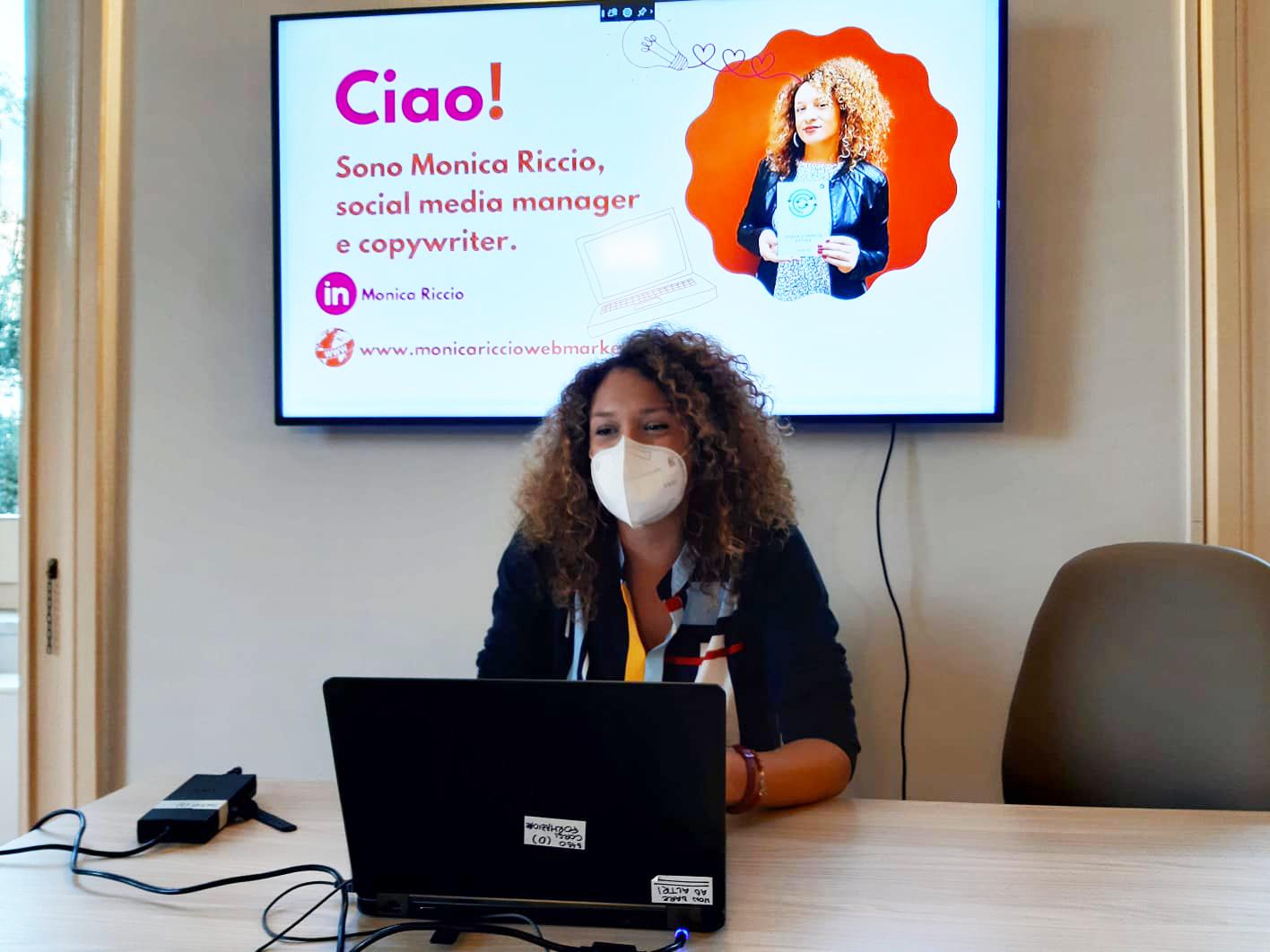 social media manager napoli Monica Riccio